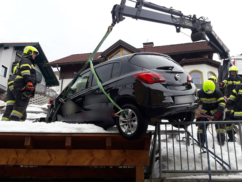 Unfall in Mariazell