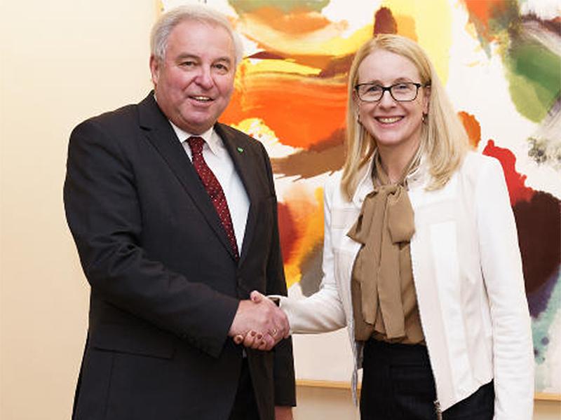 Hermann Schützenhöfer und Margarete Schramböck