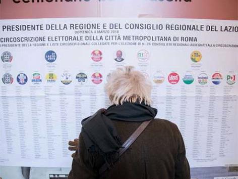 Volitve Italija kandidati stranke liste