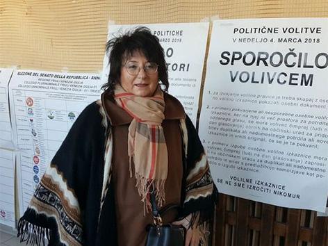 Volitve Italija kandidatka senat Tatjana Rojc DS PD