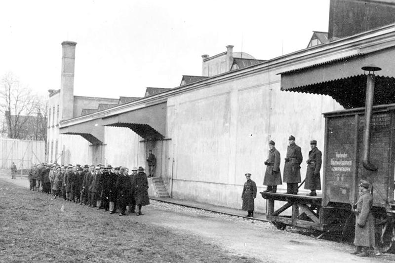 Gefangene Anhaltelager Sankt Pölten 1934