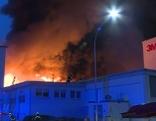 3M Großbrand Villach