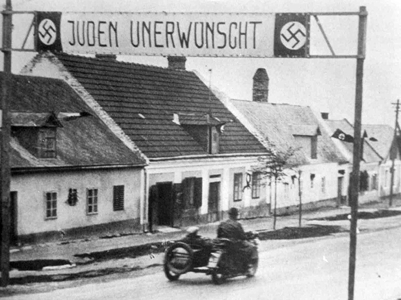 """Plakat """"Juden unerwünscht"""""""