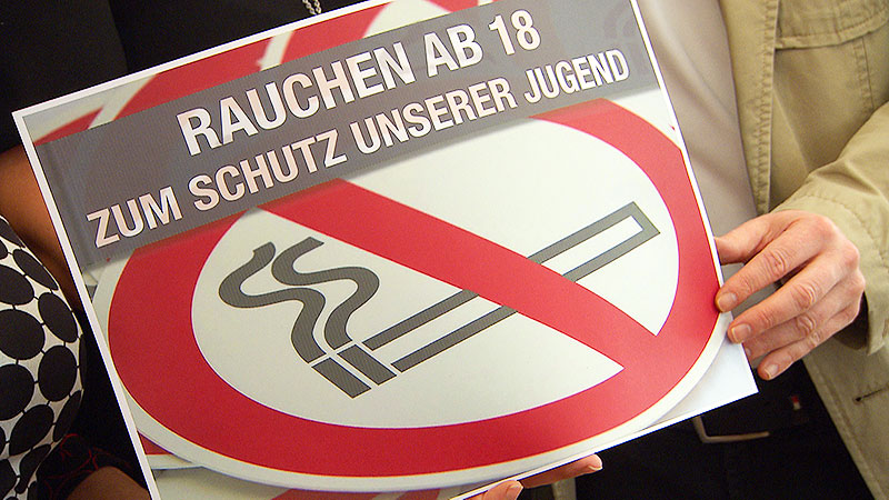 PK Jugendschutzgesetz Rauchen SPÖ FPÖ