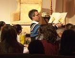 Martin Ganster beim Vorlesen
