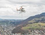Hubschrauberflüge Kapuzinerberg