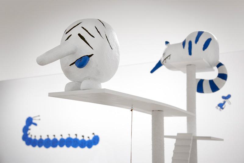 Installation Nicolas Mahler