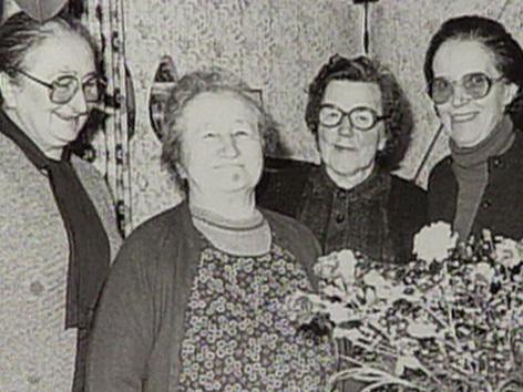 ZSŽ AFŠ 75 Milena Gröblacher Mira Prušnik ženske žena