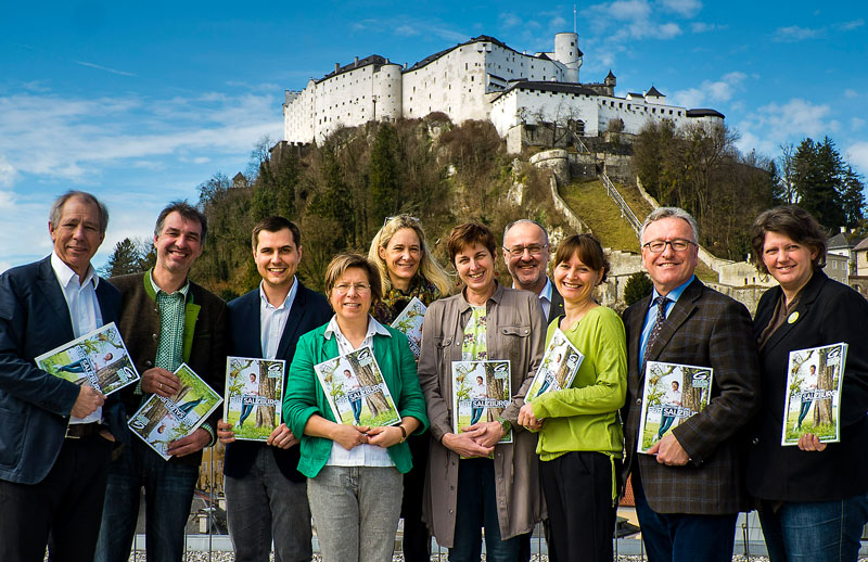 Wahlkampfauftakt Grüne Salzburg