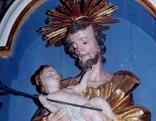 Josefsdarstellung in der Pfarrkirche Haimburg