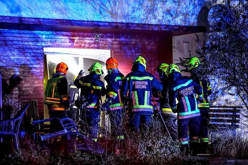 Brand in Hörsching