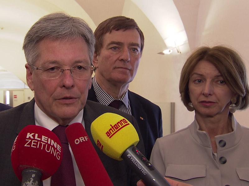Erstes Sondierungsgespräch SPÖ FPÖ