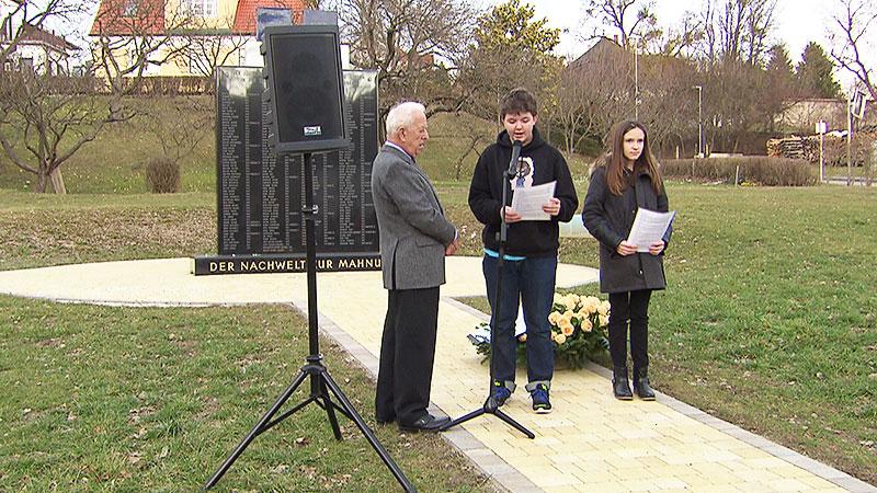 Gedenkfeier in Kobersdorf