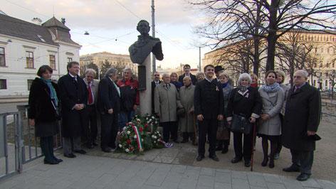Március 15. KSZ megemlékezés Bécs 1848-49