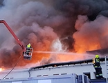 Großbrand in Villach