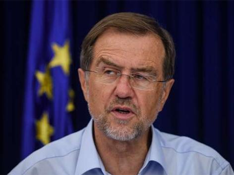 Peterle Juncker srečanje arbitraža meja sodba Hrvaška Slovenija