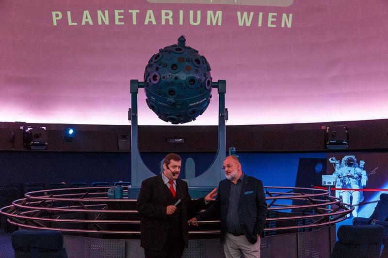 Wiedereröffnung Planetarium