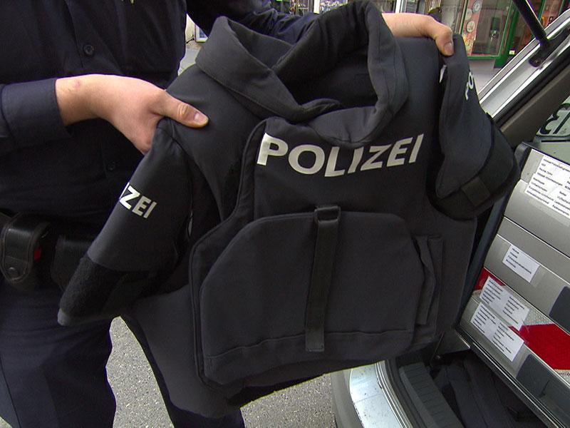 Schutzwesten Polizei