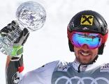 Marcel Hirscher gewinnt zum fünften Mal den RTL-Weltcup