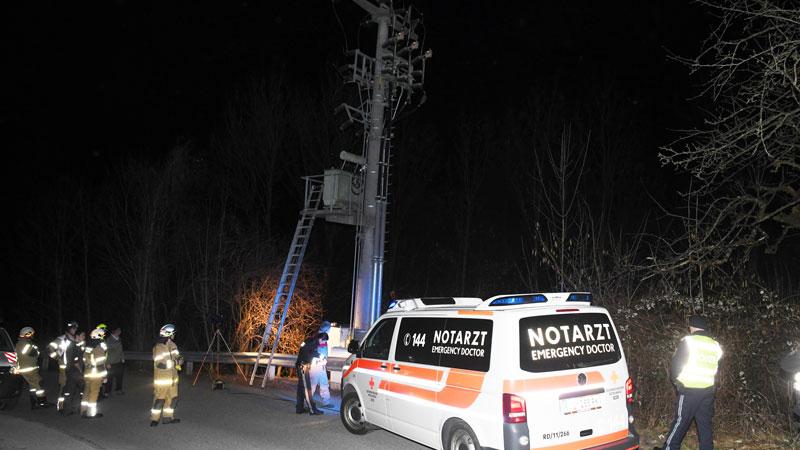 Stromschlag Münster Hochspannung