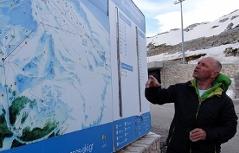 Salzburger Werner Chromecek leitet Skigegbiet im griechischen Parnassosgegbirge