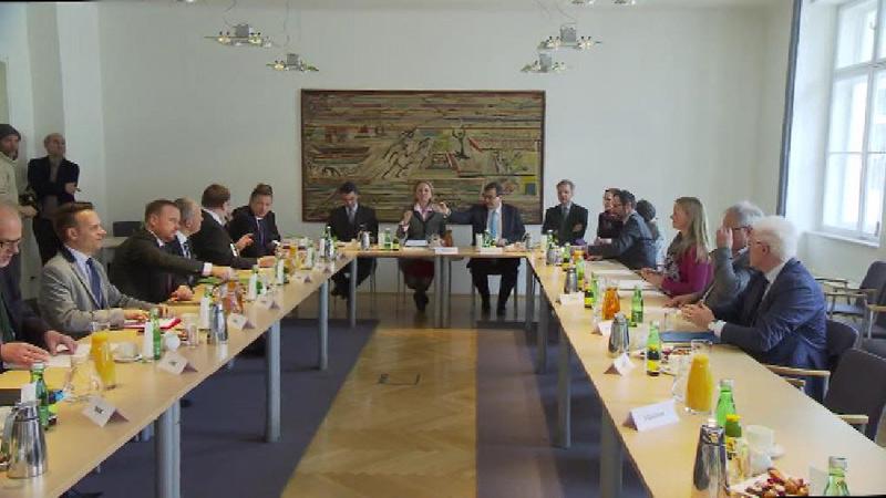 Treffen im Außenministerium