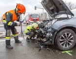 Unfall im Bereich des Kremser Hafens