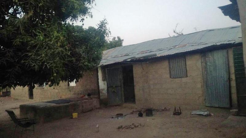 Hütte in Gambia