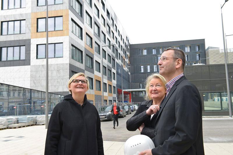 Frauenberger, Sylvia Schwarz, Thomas Balazs