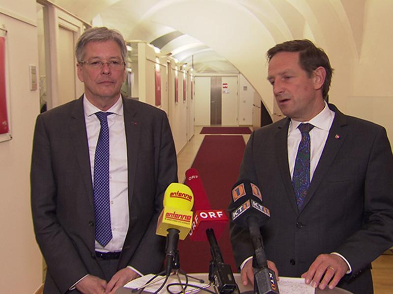 SPÖ ÖVP Koalitionsverhandlungen