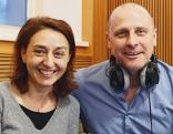 Michael Hufnagl und Leila Mahdavian
