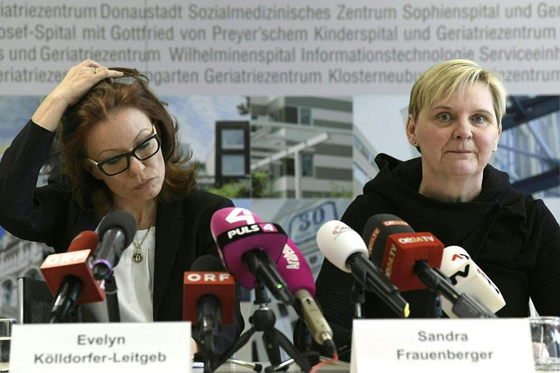 Gesundheitsstadträtin Sandra Frauenberger (SPÖ) und KAV-Direktorin Evelyn Kölldorfer-Leitgeb