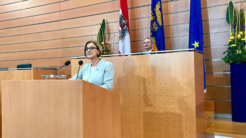 Johanna Mikl-Leitner Rede