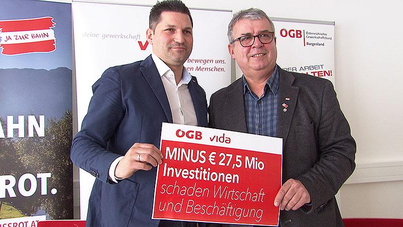 PK ÖGB Öffentlicher Verkehr Mauersics Rotpuller