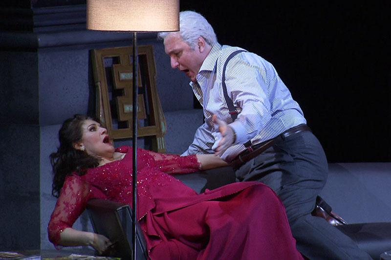 "Szene aus ""Tosca"" bei den Salzburger Osterfestspielen 2018"