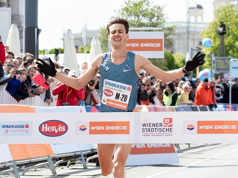 Valentin Pfeil beim Vienna City Marathon 2017
