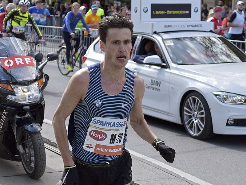 Valentin Pfeil beim Vienna City Maratho 2017