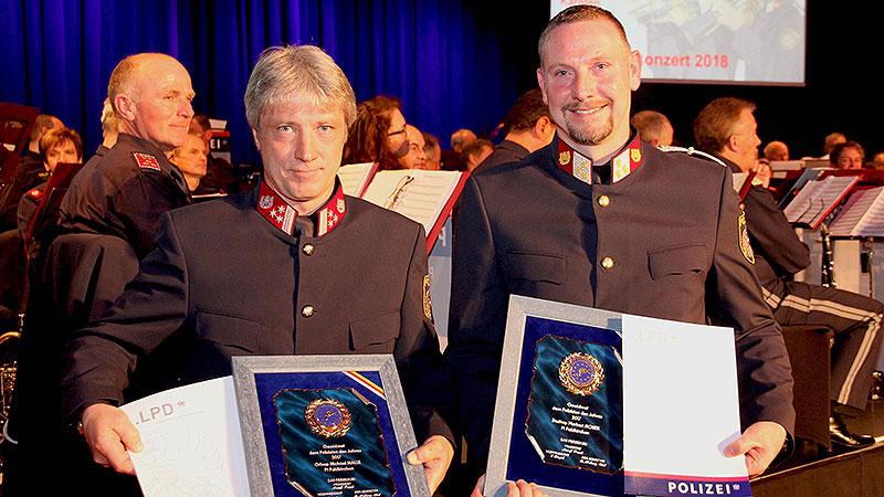 Polizist des Jahres 2018 Herbert Moser Michael Malle