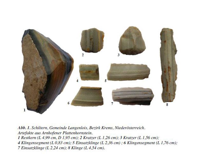 7.000 Jahre alte Feuersteine in Schiltern entdeckt – noe.ORF.at