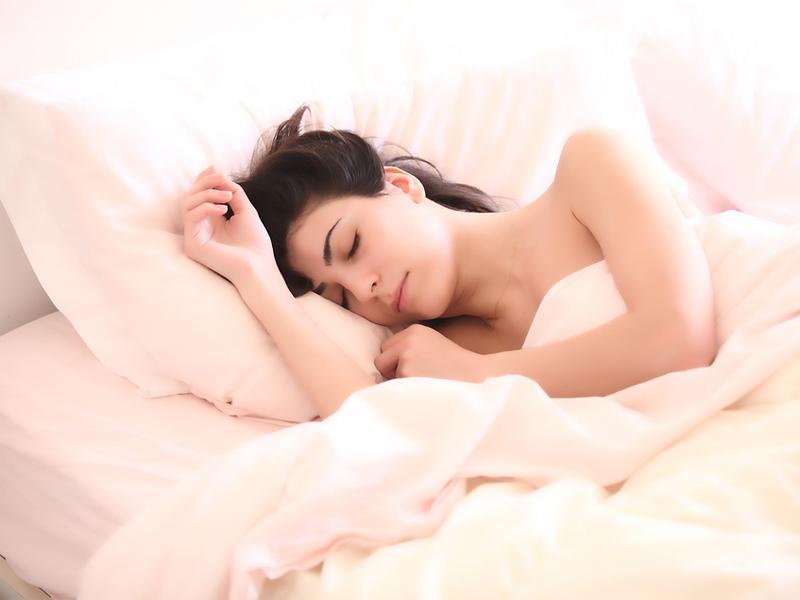 Schlaf schlafende Frau träumen Traum