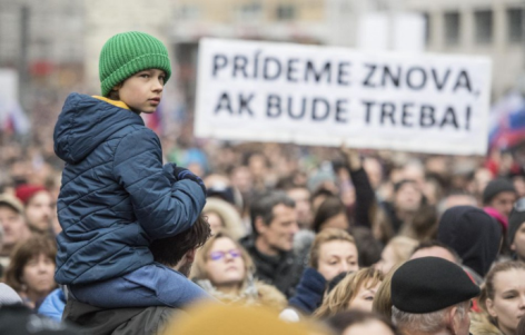 23.3. Demonstration in Bratislava