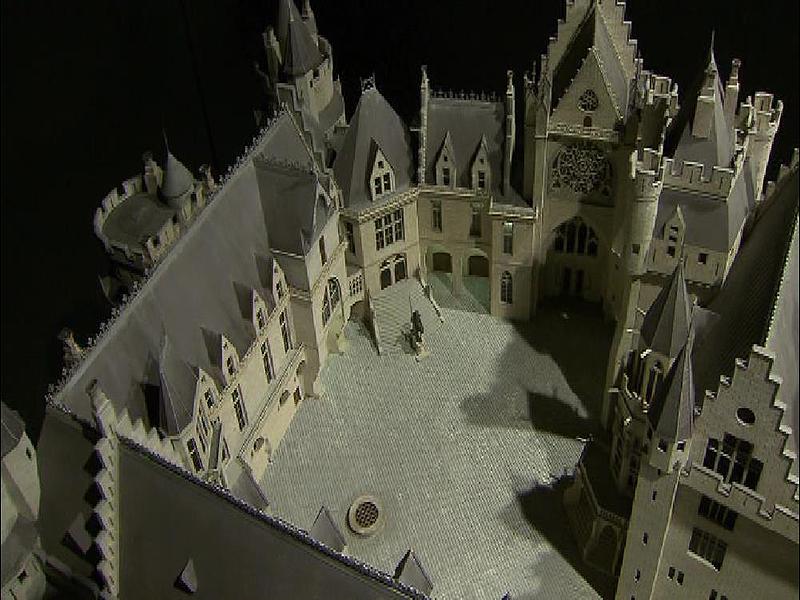 Schloss Pierrefond in Frankreich