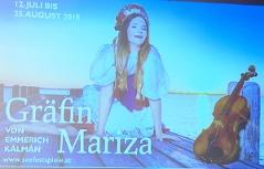 Plakat Gräfin Mariza
