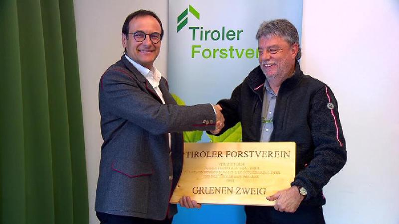 Verleihung des Grünen Zweigs