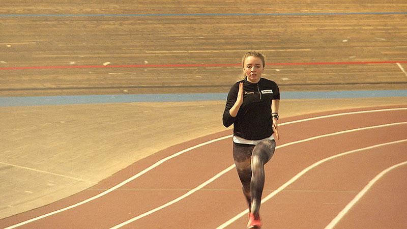 Caroline Bredlinger Läuferin drei Jahre nach Schuss