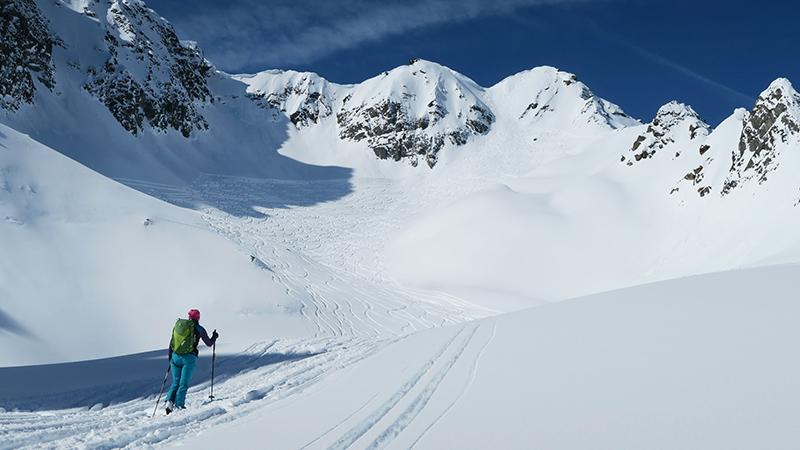 Skitour auf den Tonigenkogel
