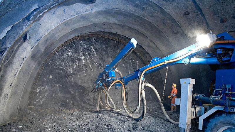 Bau BBT Tunnelbau