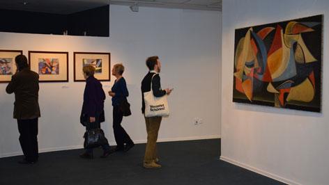 Martyn Ferenc kiállítása Bécsben