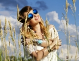Hippie Frau