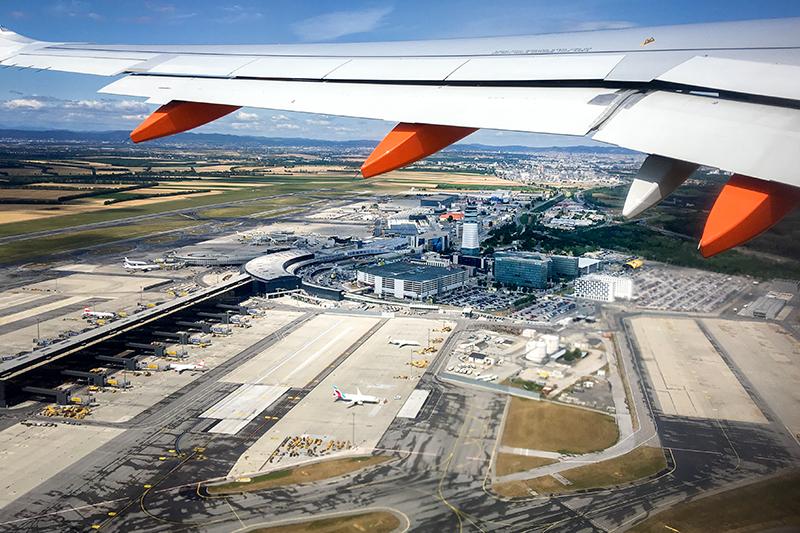 Flughafen Schwechat Wien Sujet Luftansicht